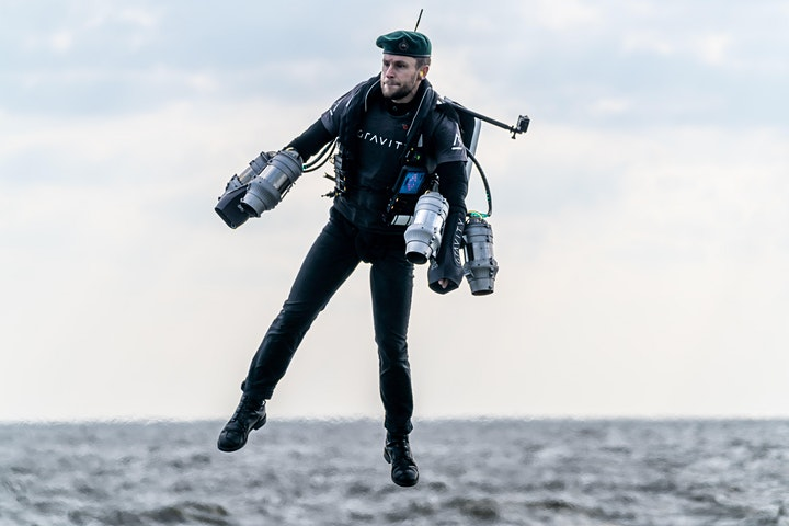 Learning how to Fly with Gravity Industries founder Richard Browning image