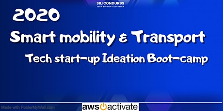Smart Mobility & Transport Tech Startup Ideation Boot-camp tickets