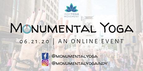 Monumental Yoga 2020 - LIVESTREAM EVENT tickets