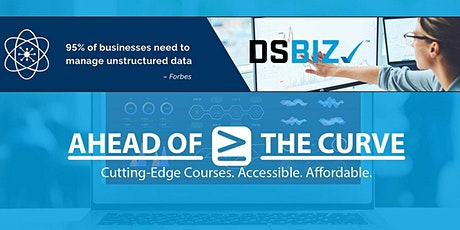Data Science class for business professionals DSBIZ (originally $300) tickets