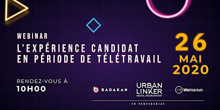 Image pour Webinar - L'expérience candidat en période de télétravail