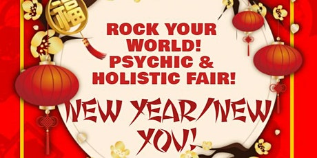 Rock Your World New Year Psychic & Holistic Fair! tickets
