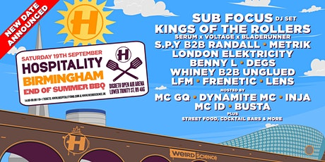 Hospitality In The Arena: End of Summer BBQ (Digbeth Arena, Birmingham) tickets