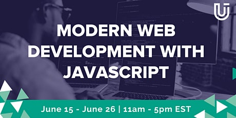Modern Web Development with JavaScript (JavaScript 1  Virtual Class) tickets