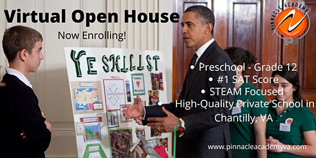 Virtual Open House - Pinnacle Academy tickets