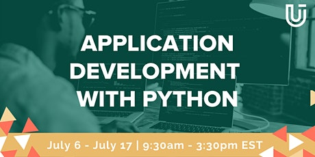 Application Development with Python (Python 1  Virtual Class) tickets