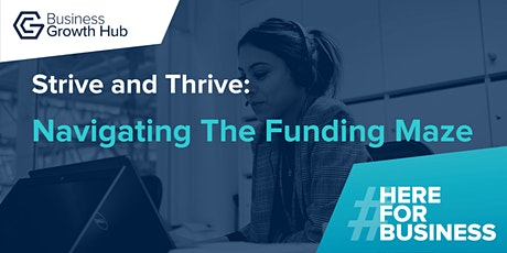 Strive and Thrive - Navigating the Funding Maze tickets
