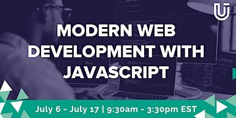 Modern Web Development with JavaScript (JavaScript 1| Virtual Class) Tickets
