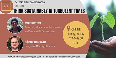 Think Sustainably in Turbulent Times tickets