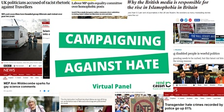Virtual Panel: Campaigning Against Hate tickets