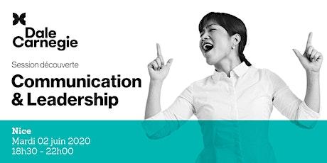 Communication & Leadership - Soirée de formation billets