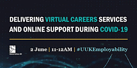 Delivering virtual careers services and online support during Covid-19 tickets