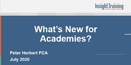 What's New for Academies? tickets