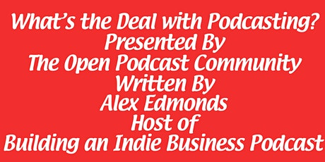 Launch of a Podcasting Book tickets