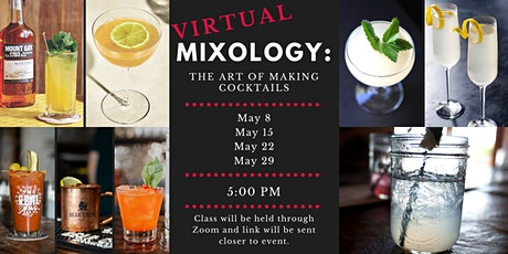 Virtual Mixology: The Art of Making Cocktails tickets