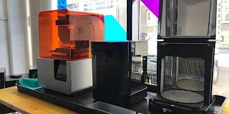 3D-Drucker Einschulung (SLA-Verfahren) // Formlabs Form2 (Happylab Wien) Tickets
