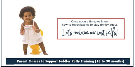 Potty Training Class (18-30 months) - August tickets