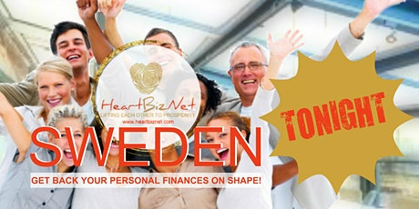 HeartBizNet SWEDEN Webinar: Get Back Your Personal Finances on shape, TONIGHT! tickets