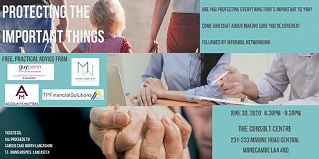 Protecting the important things! Discussion/Networking for small business tickets