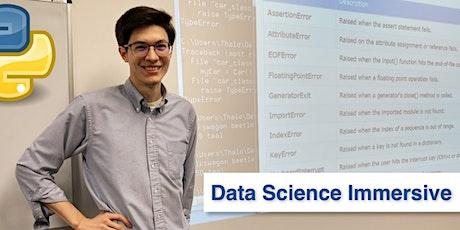 Online Python for Data Science Immersive • 1 Week Python Bootcamp tickets