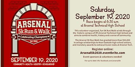 Arsenal 5k Run/Walk 2020 tickets