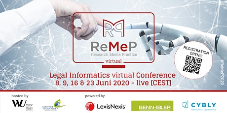 ReMeP 2020 virtual - Legal Informatics Conference - live Tickets