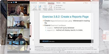 Drupal 8  Content Manager Online delivered via Zoom tickets