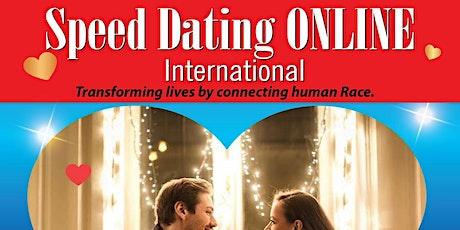 Speed Dating Online International - 1st December 2020 tickets