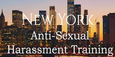 Sexual Harassment Training New York 2020 tickets