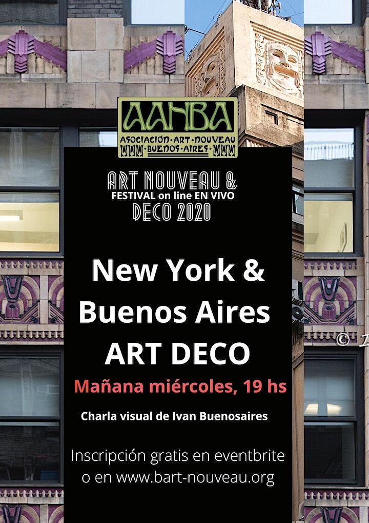 Imagen de En vivo Festival AANBA on line: NEW YORK ART DECO con Ivan Buenosaires