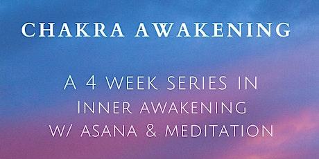Chakra Awakening | Live Yoga & Meditation tickets