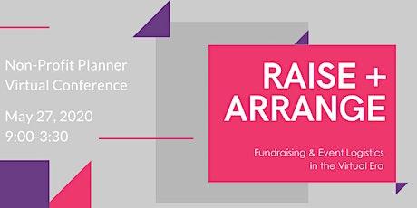 RAISE + ARRANGE tickets
