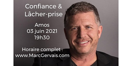 AMOS - Confiance / Lâcher-prise 15$ billets