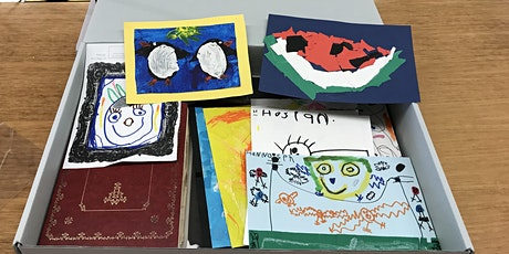 After the fridge: caring for children's artwork webinar tickets