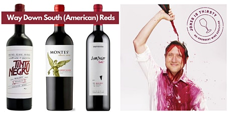 Virtual Wine Tasting: South American Reds tickets