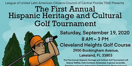 Hispanic Heritage and Cultural Golf Tournament tickets