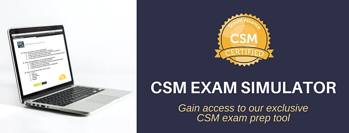 April 21-22 - Online Certified ScrumMaster (CSM) image
