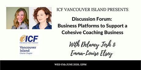 Business Platforms to Support a Cohesive Coaching Business tickets