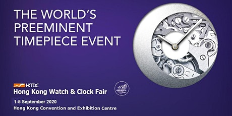HKTDC Hong Kong Watch & Clock Fair / Salon de TE 2020 tickets