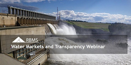 Webinar - Water Markets and Transparency: where are we at and where are we heading? tickets