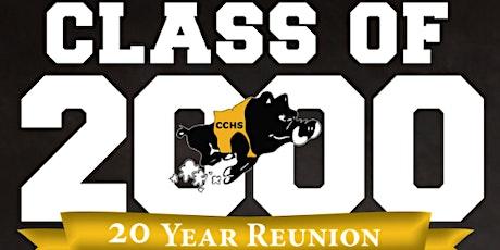 CCHS C/O 2K 20-Year Reunion tickets