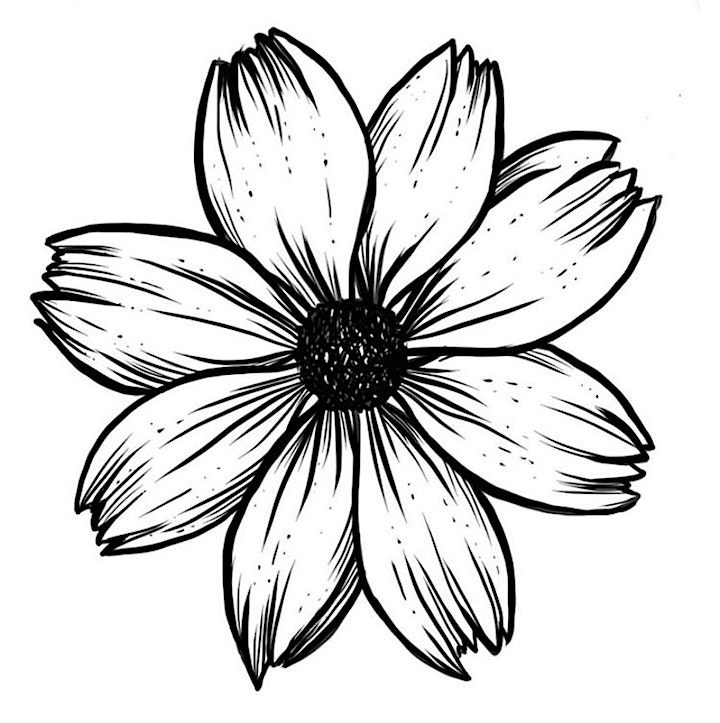 Online Workshop: Floral Line Art with The Tiny Blot image