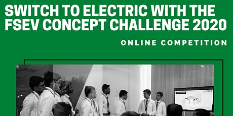 Formula Student Electric Vehicle Concept Challenge Tickets