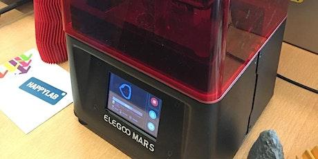 3D-Drucker Einschulung (SLA-Verfahren) // Elegoo Mars (Happylab Salzburg) Tickets