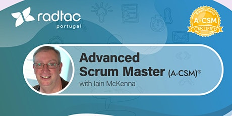 Advanced Certified ScrumMaster® (A-CSM®) certification bilhetes