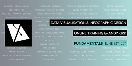 Fundamentals of Data Visualisation & Infographic Design   Online Training tickets
