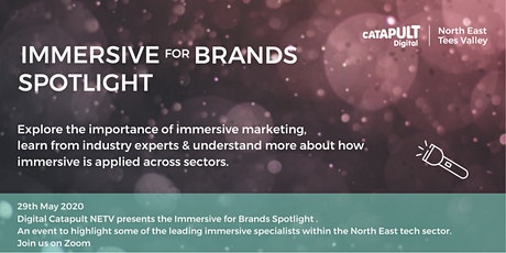 Immersive for Brands Spotlight tickets