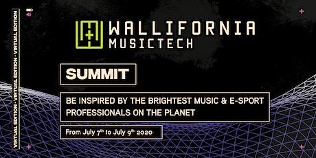 Wallifornia MusicTech - Virtual Summit 2020 tickets