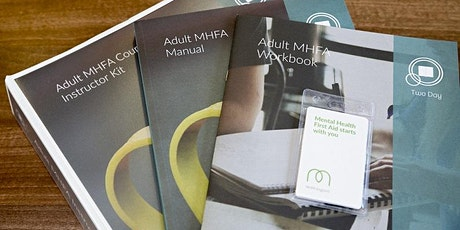 MHFA Adult Mental Health First Aid (2 day course) Tickets