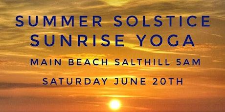 Summer Solstice Sunrise Yoga - Salthill tickets